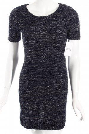 Esprit Wollkleid blau-grau schlichter Stil