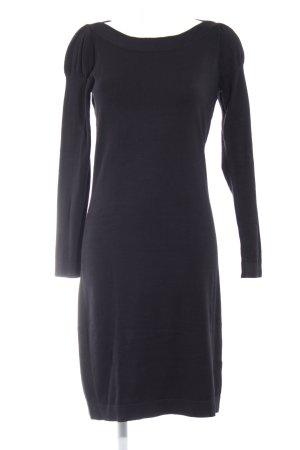 Esprit Vestido de lana negro elegante