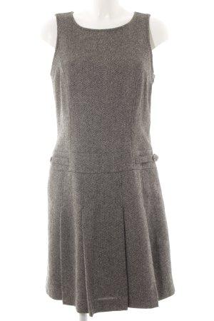 Esprit Vestido de lana negro-gris claro look casual