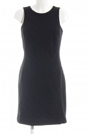 Esprit Wollen jurk zwart geruite print zakelijke stijl