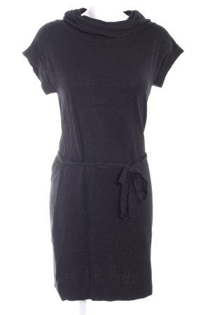 Esprit Vestido de lana negro mullido