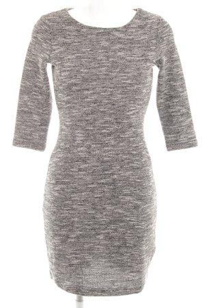 Esprit Wollkleid schwarz-wollweiß schlichter Stil