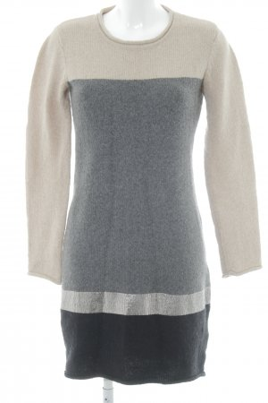 Esprit Woolen Dress striped pattern simple style