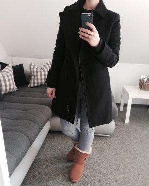 Esprit Manteau en laine noir laine