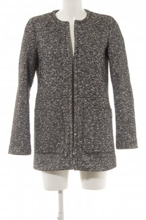 Esprit Manteau en laine gris anthracite-blanc cassé moucheté