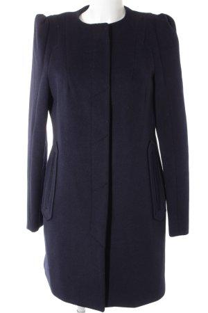 Esprit Wool Coat dark blue casual look