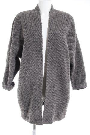Esprit Abrigo de lana gris elegante