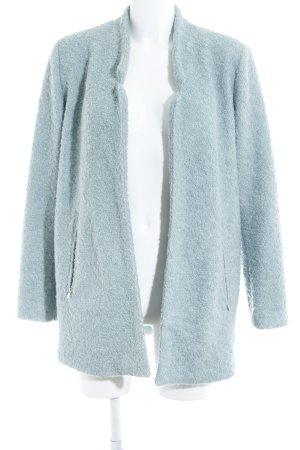 Esprit Abrigo de lana verde grisáceo estilo sencillo