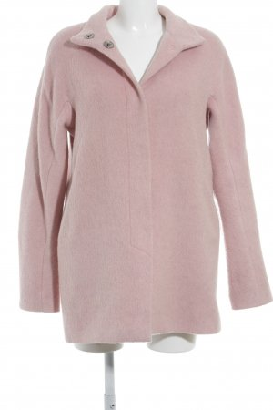 Esprit Wool Coat pink flecked casual look