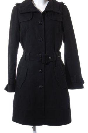Esprit Wollmantel schwarz Elegant