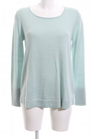 Esprit Wool Sweater turquoise casual look