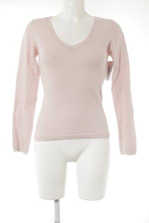 Esprit Wollen trui stoffig roze simpele stijl
