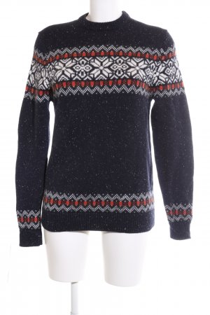 Esprit Wollpullover grafisches Muster Casual-Look