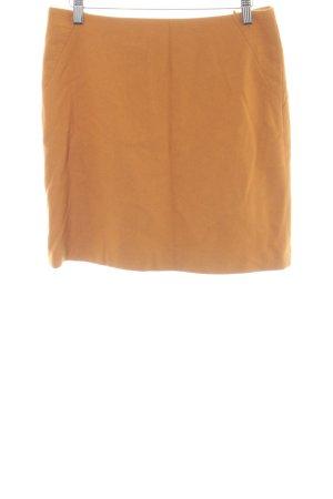 Esprit Jupe en laine orange clair style décontracté