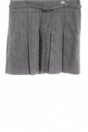 Esprit Wool Skirt light grey casual look