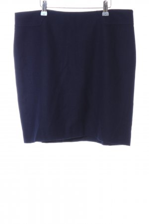 Esprit Gonna di lana blu stile professionale