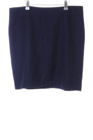 Esprit Wollrock blau Business-Look