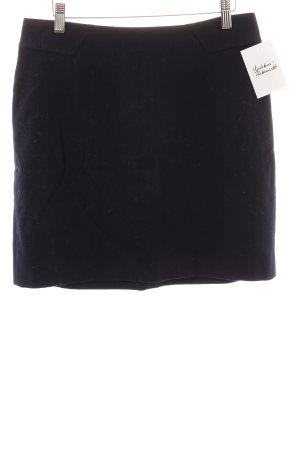 Esprit Wollen rok donkerblauw simpele stijl