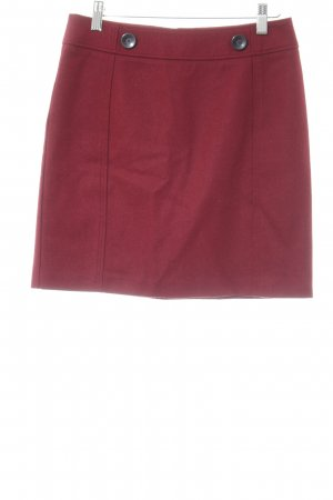 Esprit Wollrock dunkelrot minimalistischer Stil