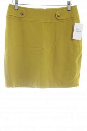 Esprit Wool Skirt lime yellow classic style