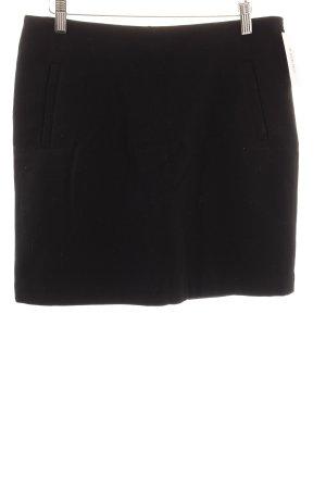 Esprit Wollen rok zwart simpele stijl