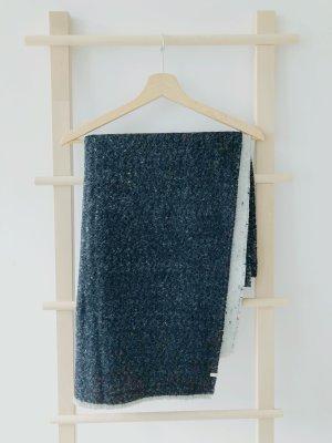 Esprit Sciarpa di lana antracite-grigio chiaro