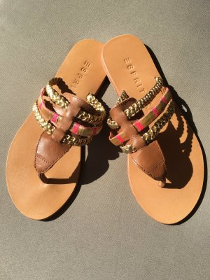Esprit Toe-Post sandals multicolored