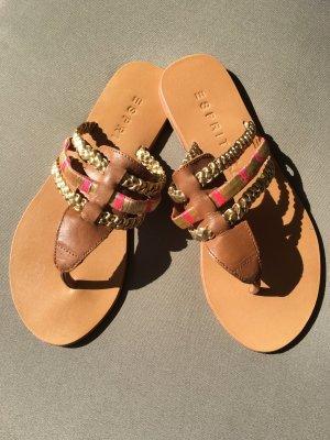 Esprit Toe-Post sandals multicolored
