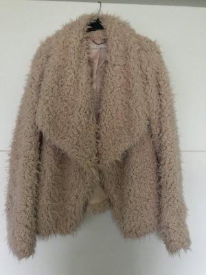 Esprit Zotteljacke Größe S Boho Vintage kuschelig warm