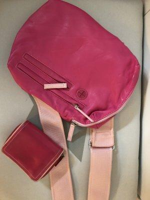 Esprittasche mit Geldbörse in Pink