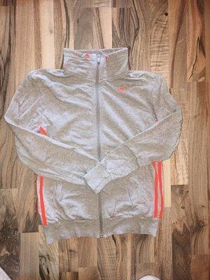 Adidas Originals Giacca grigio chiaro-arancio neon