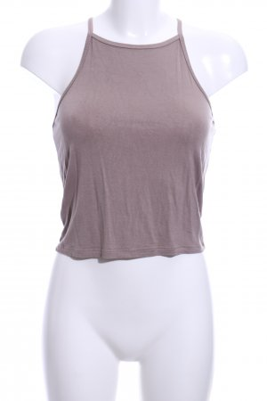Essentials Cropped Top graubraun Casual-Look