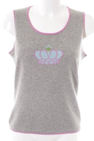 Essentials Camisa tejida multicolor look casual