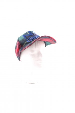 Essentiel Antwerp Baseball Cap check pattern casual look