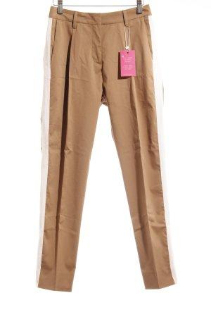 Essentiel Antwerp Pantalon à pinces beige-crème style décontracté
