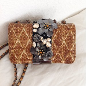 ESSENTIEL ANTWERP Handtasche Tasche Gold Braun Vegan MyTheresa Manoush Antik Batik Humanoid