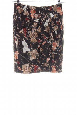 Essentiel Antwerp Silk Skirt abstract pattern casual look
