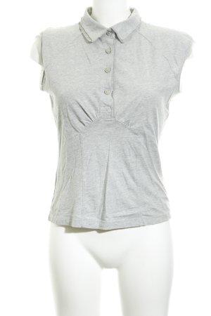 Essentiel Antwerp T-Shirt hellgrau meliert Casual-Look