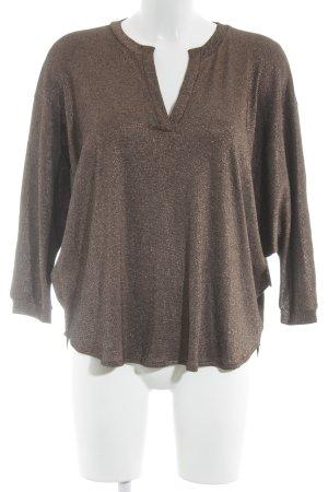 Essentiel Antwerp V-Ausschnitt-Pullover bronzefarben Casual-Look