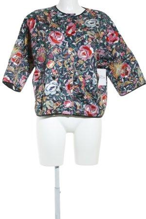 Essentiel Blusenjacke florales Muster Street-Fashion-Look