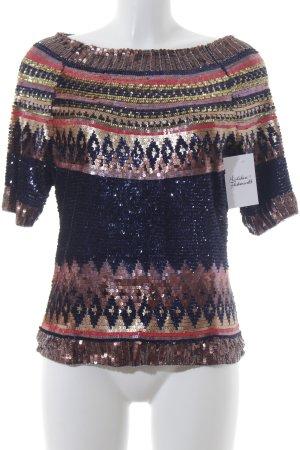 Essentiel Shirttunika mehrfarbig Paillettenverzierung
