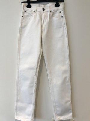 Calvin Klein High Waist Jeans white cotton