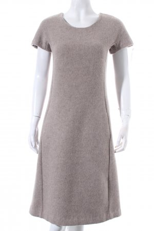 Esther Thomas Wollkleid hellbeige Kuschel-Optik
