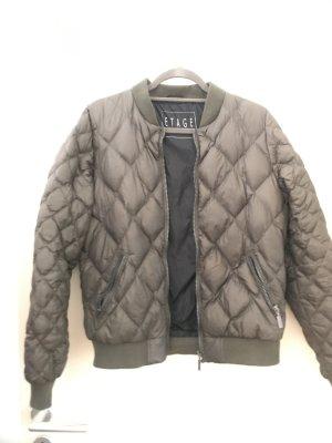 Etage Down Jacket green grey-khaki