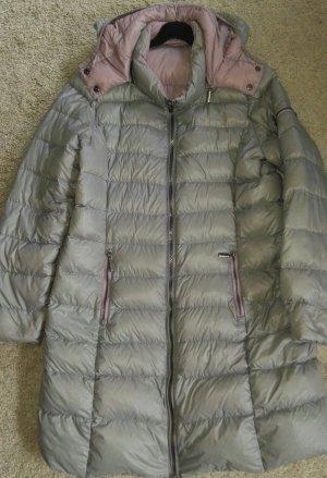 Etage Abrigo de plumón gris claro-malva