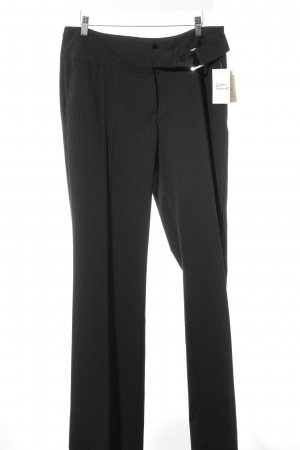 Etam Suit Trouser black pinstripe business style