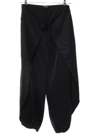 Etam Pantalon large noir style décontracté