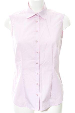 Eterna ärmellose Bluse rosa Business-Look