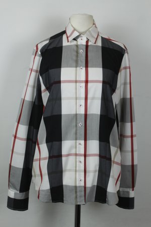 Eterna Bluse Gr. 38 Glen Check