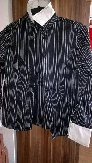 Eterna excellent Bluse schwarzweiss Gr. 36